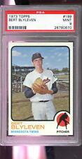 1973 Topps #199 Bert Blyleven Minnesota Twins MINT PSA 9 Graded Baseball Card