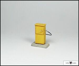 Zapfsäule (gelb) - Fertigmodell - 1:32