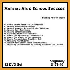 Andrew Wood's Martial Arts School Success Series (12 DVD Set)