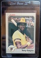 1983 FLEER #360 TONY GWYNN ROOKIE CARD RC SAN DIEGO PADRES HOF