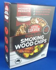 Little Lucifer Hickory & Mesquite 100gm Ready-to-use Tray BBQ Smoking Wood Chips