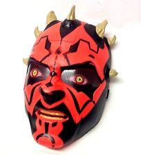 Plástico duro de Star Wars Darth Maul Máscara Casco Con Sonido, Disfraz, Cosplay, Jedi
