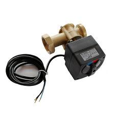 3-Wege-Mischer mit Stellmotor 230V Heizungsmischer Umschaltventil Dreiwege