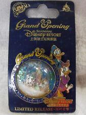 2016 Disney LR Bubble 3D Pin SDR Shanghai Disneyland Grand Opening Donald Daisy