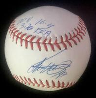 Ivan Nova Philadelphia Phillies Autographed Signed Baseball PSA/DNA COA W/Insc