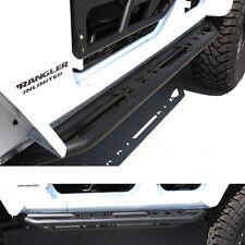 07-16 Jeep JK Wrangler Tubular With Step Armor Rock Slider Rocker Guard Nerf Bar