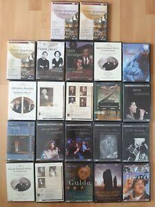Musik DVD zum Aussuchen Klassik Jazz Orchester Oper Konzert NEU OVP
