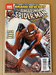 Marvel - The Amazing Spider-Man #546 - Brand New Day - 1st App Mr Negative - F