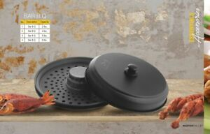 BBQ Grill Plate Non-Stick Coated Portable Butane Gas stove plate 4lb, lb& 8lb