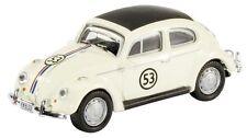 SCHUCO 21888 VW BEETLE PRESSOFUSO MODELLO RALLY AUTO livrea Herbie N. 53 1:87 TH scala
