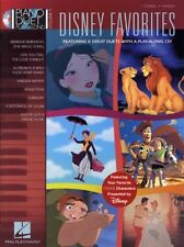 Piano Duet Play-Along Disney Favourites Learn to Play Pop Music Book & CD