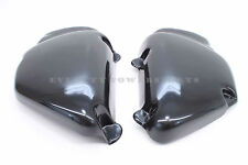 New Side Battery Covers Raw ABS Black Plastic 1977-1978 CB750 K Four Maier #Z21