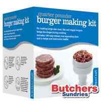 groß Viertel Stampfer Rindfleisch Burger Presse Hersteller 100 Wachs DISKS