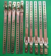 "(Qty 10pcs) Copper Ground Strap 9"" long"
