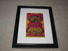 "Framed The Doors Concert Mini Poster, 1967 Fillmore, 14""x16.5"" RARE!"