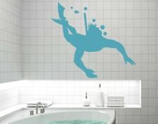 Diving - Highest Quality Wall Decal Sticker