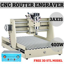 400W 3 Axis Engraver CNC 3040 Router Desktop Drilling Milling Carving Machine US