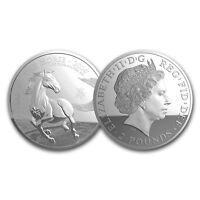 2014 Great Britain 1 oz Silver Year of the Horse BU - SKU #79988