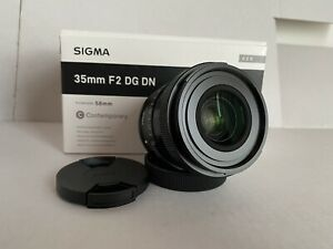 Sigma 35mm F 2 DG DN for L mount