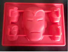 AVENGERS IRONMAN MASK SILICONE BIRTHDAY CHOCOLATE CANDY MOLD PARTY SUPPLIES