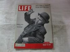 Life Magazine March 10th 1952 Brandon De Wilde Mrs Mcthing Publisher Time  mg528