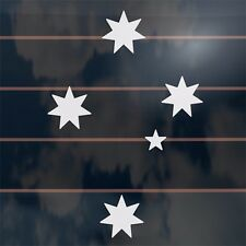 Aussie Southern Cross Stars Car Sticker 150mm