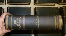 1907-09 JEWISH ENCYCLOPEDIA 12 volume 2nd edition