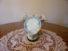 Rosenthal Cup And Saucer With Small Blue Flowers & Gold Trim