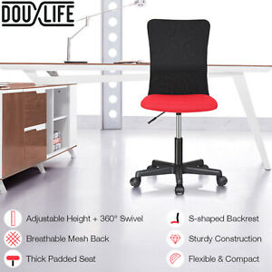 Douxlife Home Office Chair Executive Computer Work Seat S-shaped Ergonomic New