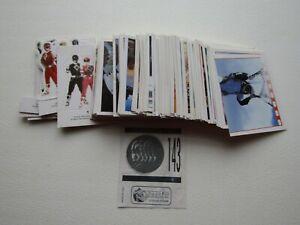 Merlin 1995 Saban Power Rangers The Movie Sticker & Stand up Card Variants (e35)