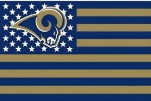 La Rams 3X5 Flag Man Cave Flag Los Angeles 3 x 5 Banner New Football USA