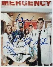 ER CAST.. Clooney, Edwards, LaSalle, Wyle, Stringfield & Margulies - SIGNED