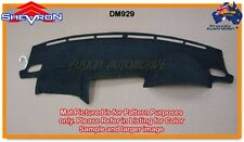 Black Dashmat for SUBARU liberty 12/2003-6/2009 Dash Mat DM929