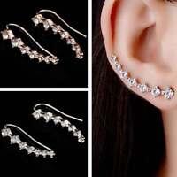 1 Coppia orecchini orecchino lobo accessorio bigiotteria strass donna regalo
