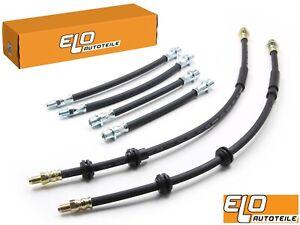 6x ORIGINAL ELO BREMSSCHLAUCH VORNE HINTEN BMW 1er E82 E87 E88 3er E90 E91 E92