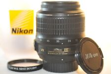 Nikon DX AF-S VR Nikkor 18-55mm G lens for D60 D7500 D3400 D3300 D5600 D7200 D90