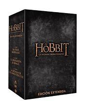 EL HOBBIT LA TRILOGIA EDICION EXTENDIDA 15 DVD NUEVO ( SIN ABRIR ) PACK