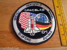 NASA Space Shuttle patch Spacelab D1