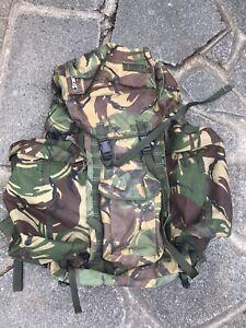 genuine British army DPM IRR Infantry long Bergen/rucksack & Side Pouches!grade1