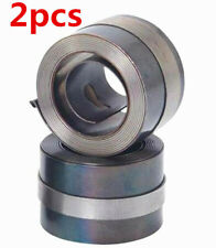 2pcs Bridgeport Mill Milling Machine Part Clock (Quill) Spring 30mm Wide