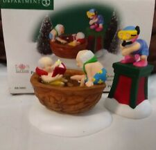 Dept 56 North Pole Accessory 2 Pc 2000 Party In The Hot Tub 56802 Retired 2001