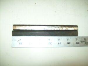 "2 7"" Steel Flat Sided Shafts 5/8"" Diameter From Vintage Shopsmith Mark 5 Greenie"