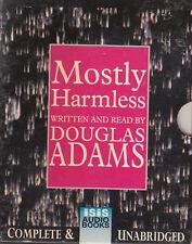 Mostly Harmless Douglas Adams 4 Cassette Audio Book Unabridged FASTPOST