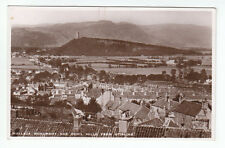 General View Of Stirling Wallace Monument And Ochil Hills Real Photograph Old PC