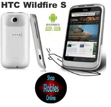 HTC Wildfire S White (without Simlock) Smartphone WIFI 3G GPS 5,0MP Radio Good Boxed