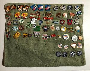 Lot of 61 Youth Soccer Trading Pins