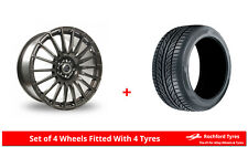 "Alloy Wheels & Tyres 16"" AC Nikki For Toyota Avensis Verso 01-09"