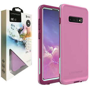 LifeProof FRĒ Tough 360 Waterproof Case for Samsung Galaxy S10+ (PLUS) - Pink