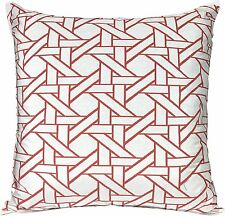 "Threshold Decorative Double-Sided Sofa Toss Pillow Orange Oversized 24"" x 24"""