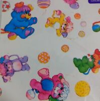 Vintage Popples Wrapping Paper American Greetings One Large Sheet
